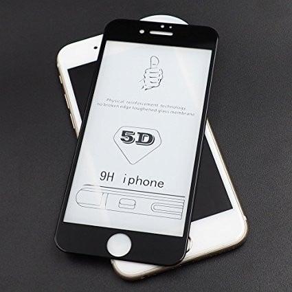 Folie sticla 5D Iphone 7/8 - 2 culori 1