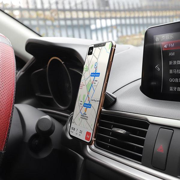Suport auto Hoco CA46 magnetic cu adeziv 2