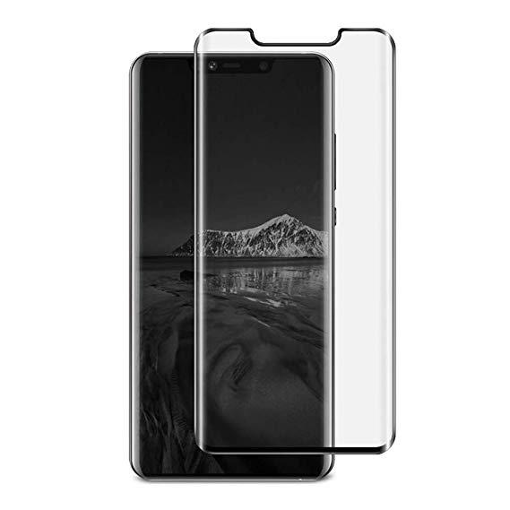 Folie sticla curbata full glue Huawei Mate 20 pro - negru [0]