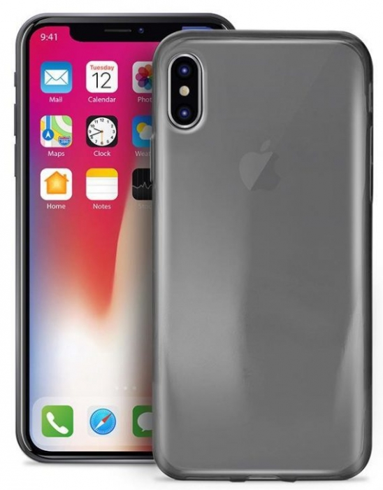 Husa silicon slim Iphone X/Xs, Transparent 1