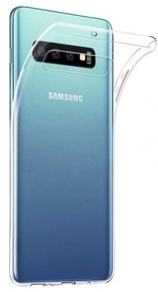 Husa silicon slim Samsung S10 transparent 0