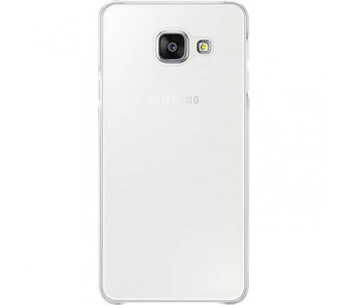 Silicon slim Samsung A3 (2017) - transparent 0