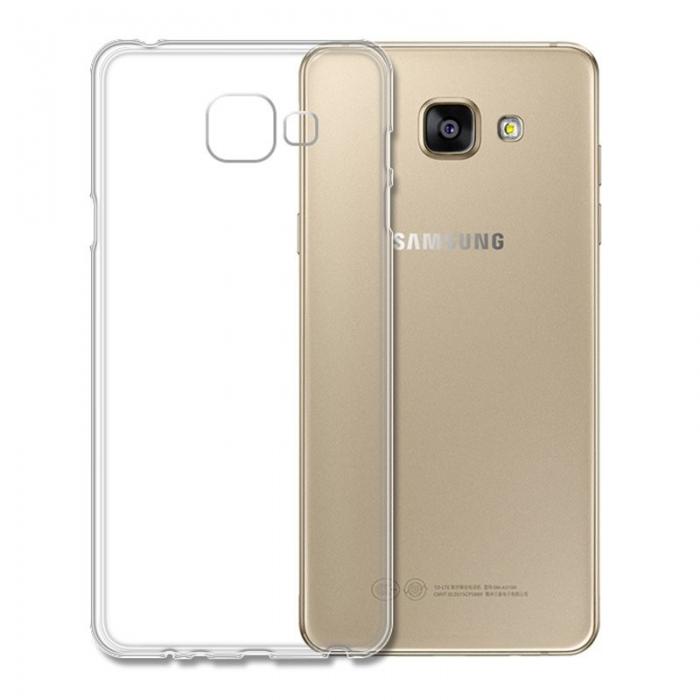 Husa silicon 1mm Samsung A5 (2016) transparenta [0]
