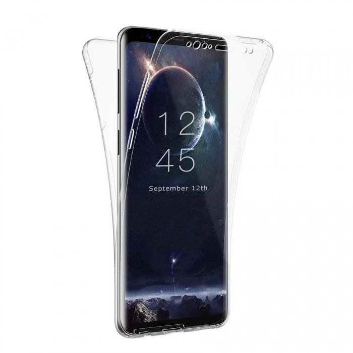 Husa silicon 360 fata+spate Samsung A5/A8 (2018) 0