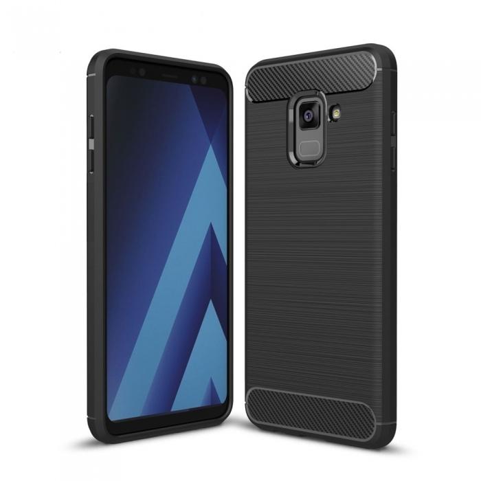 Husa silicon carbmat Samsung A5/A8 (2018) [0]