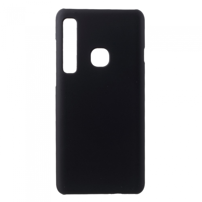 Husa silicon slim mat Samsung A9 (2018) - negru [0]