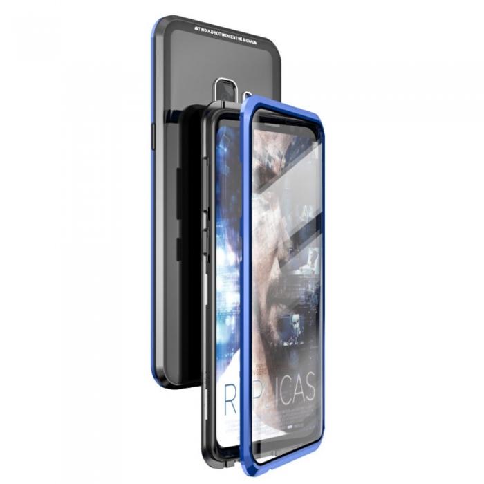 Bumper magnetic Samsung J4 plus - 3 culori 0