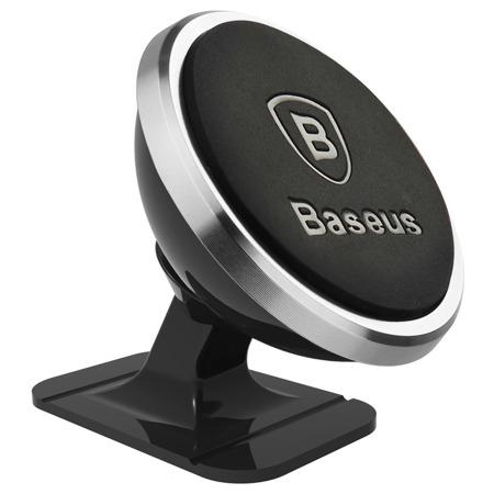 Suport auto Baseus Magnetic pentru smartphone - argintiu [2]