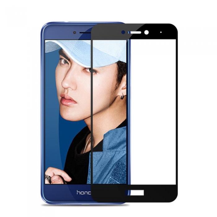 Folie sticla 4D Huawei P8/P9 lite (2017) - negru 0