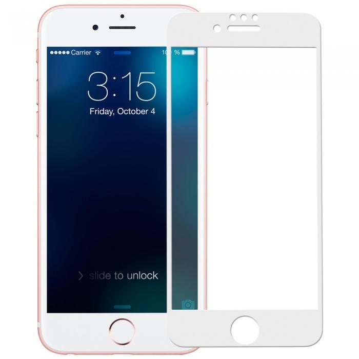 Folie sticla 4D Iphone 7/8+ - 2 culori 1