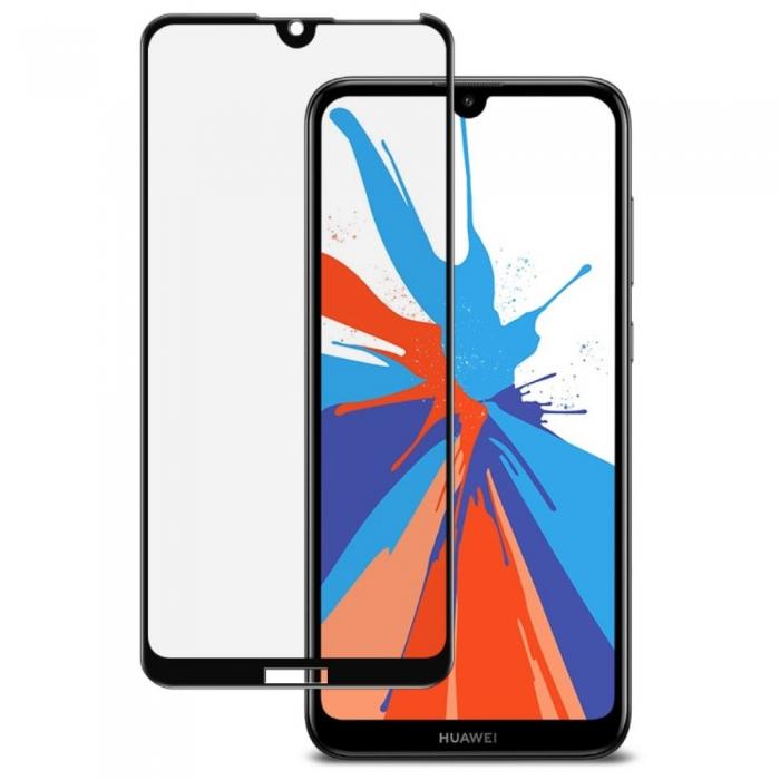 Folie sticla 5D Huawei Y7 (2019) - negru 0