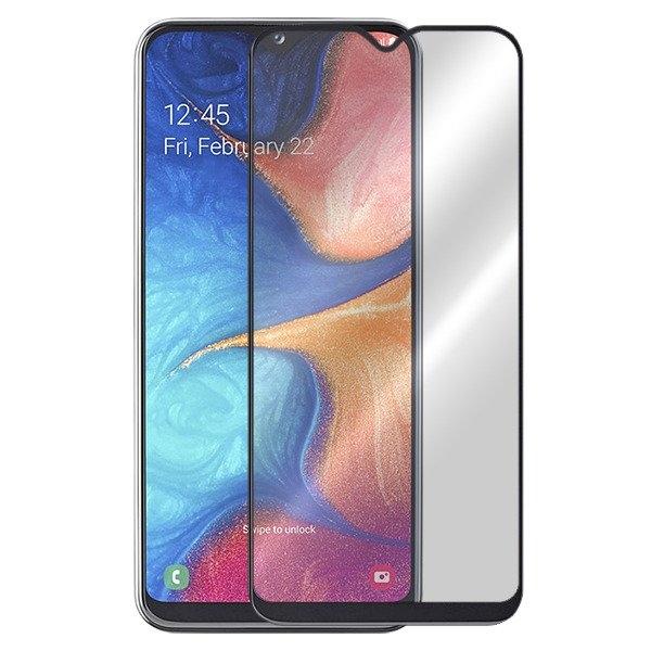 Folie sticla 5D Samsung A20E - negru 0