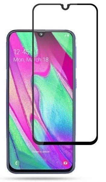 Folie sticla 5D Samsung A40 - negru 0