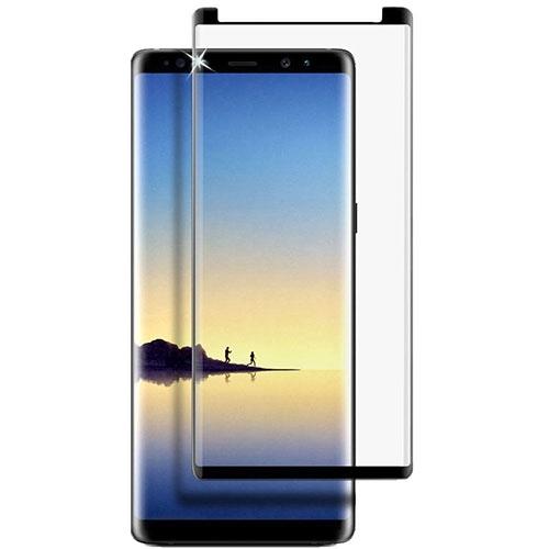 Folie sticla curbata full glue Samsung Note 9 - negru 0