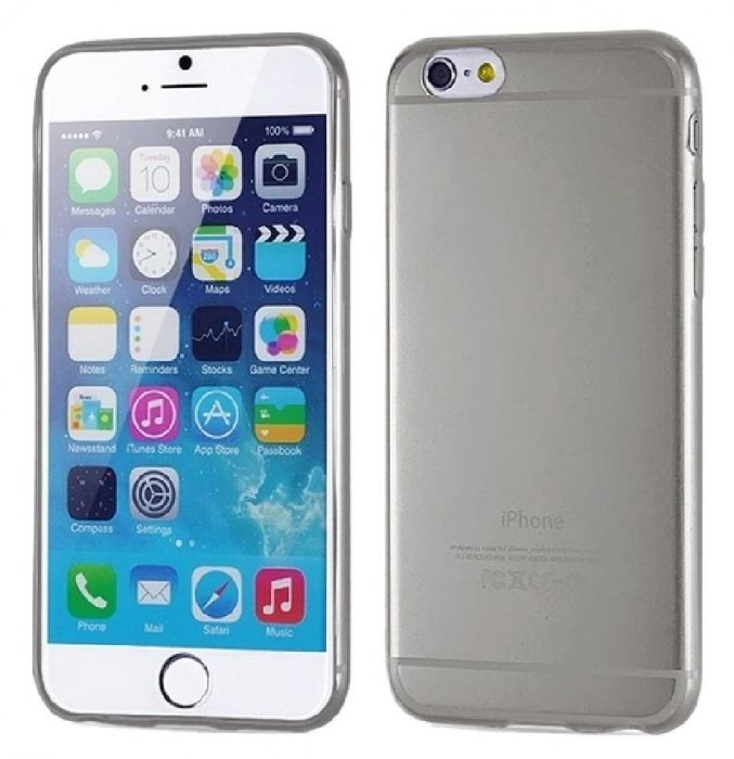 Husa silicon slim Iphone 6 transparent 1