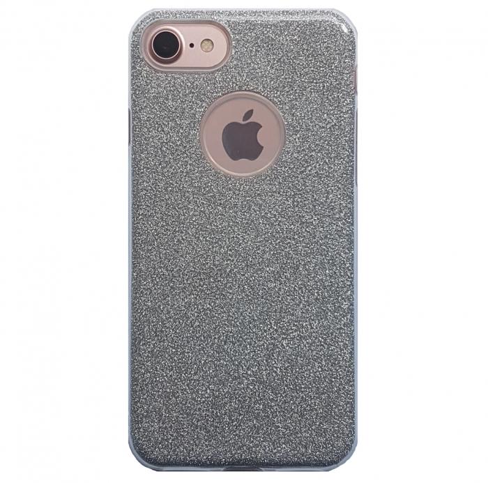 Husa 3 in 1 cu sclipici Iphone 8 - 4 culori 0