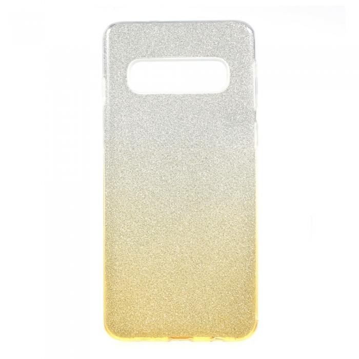 Husa 3 in 1 cu sclipici Samsung S10e - degrade 2 culori 0