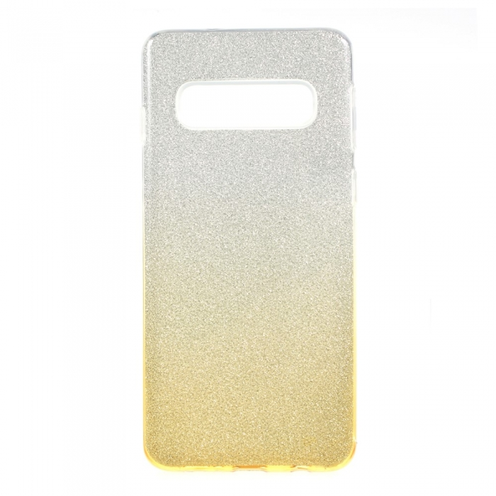 Husa 3 in 1 cu sclipici Samsung S10e  - degrade 4 culori 0