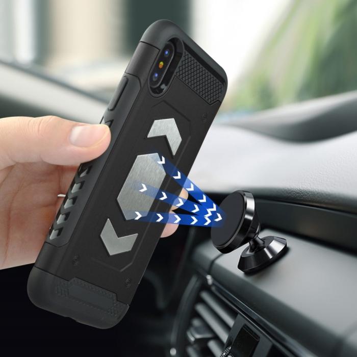 Husa armura auto Iphone Xr - 3 culori 3