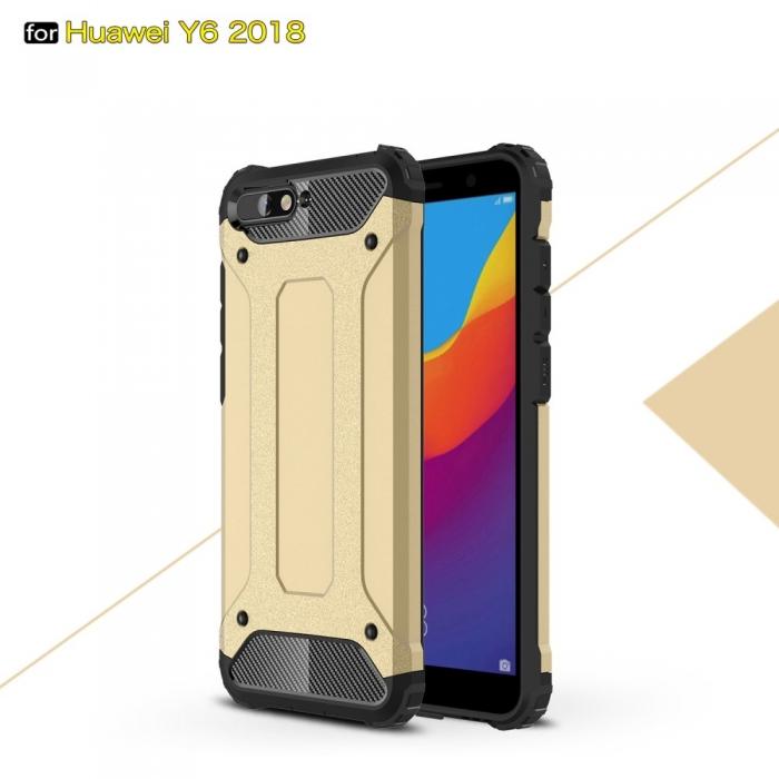 Husa armura strong Huawei Y7 (2018) - 3 culori [0]