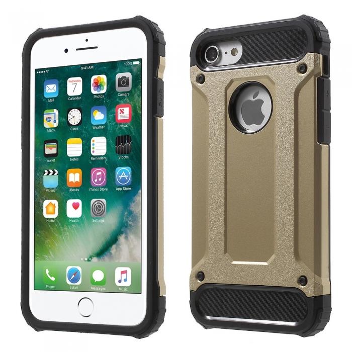 Husa armura strong Iphone 8, Gold 0