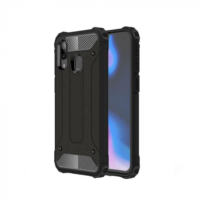 Husa armura strong Samsung A20E - Negru 0
