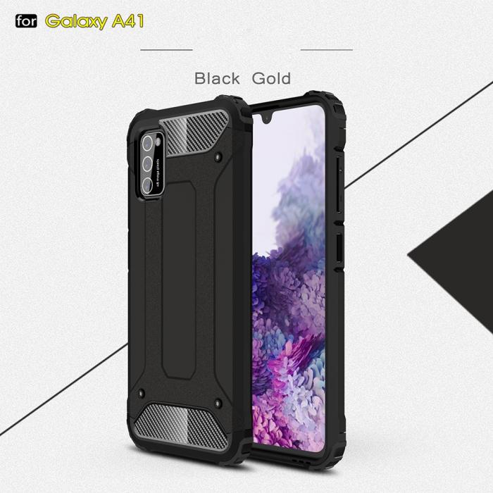 Husa armura strong Samsung A41, Negru [0]