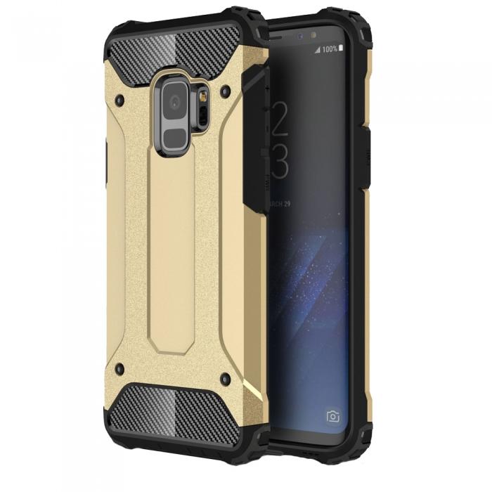 Husa armura strong Samsung A6 (2018), Gold [0]