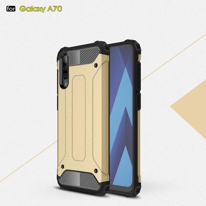 Husa armura strong Samsung A70, Negru 2
