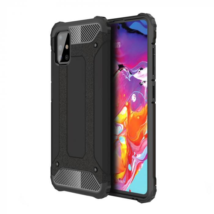 Husa armura strong iPhone 12/ 12 Pro- Negru [0]
