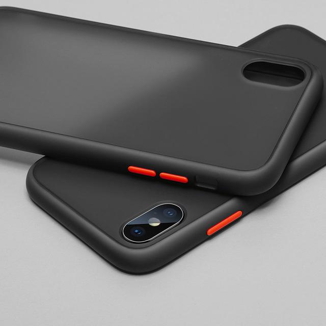 Husa bumper mat Iphone 11 - 6 culori [0]