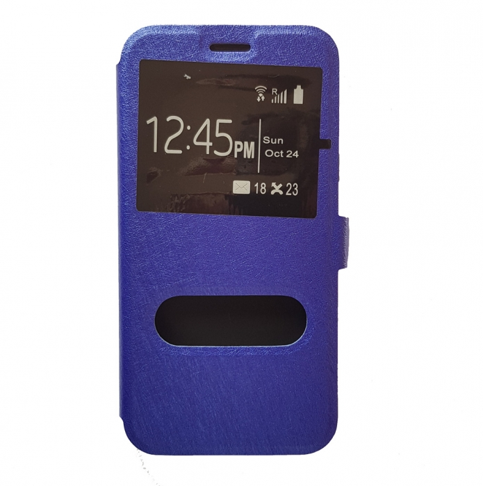 Husa carte geam dublu si magnet mic Huawei P10 Lite 0