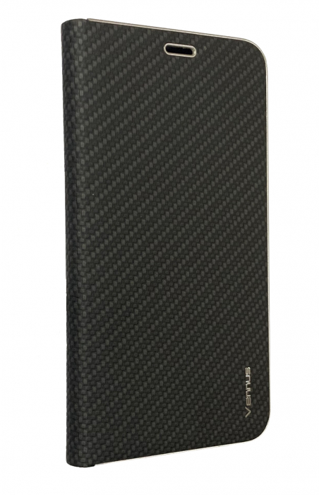 Husa carte Venus carbon Samsung A10 - negru 0