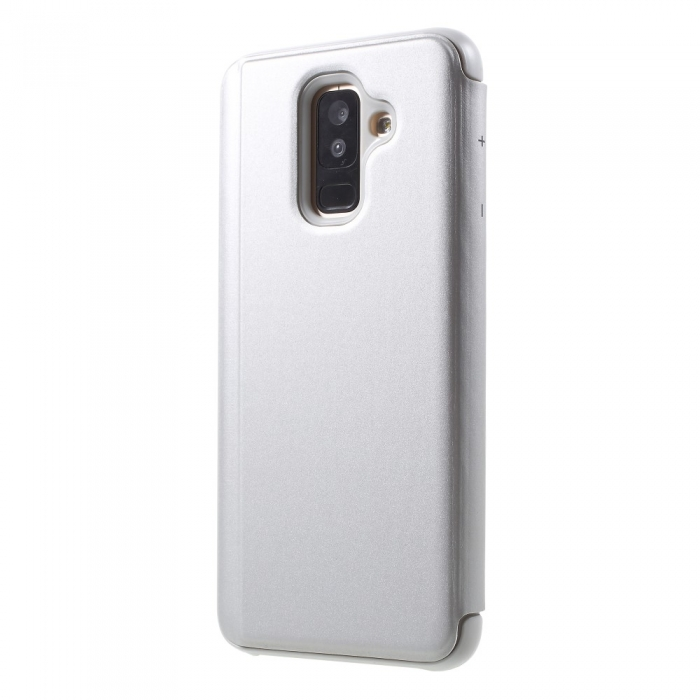 Husa clear view Samsung J6 + - 6 culori 1