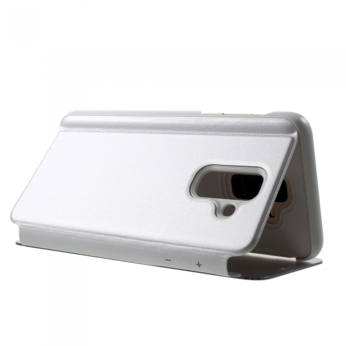 Husa clear view Samsung J6 + - 6 culori 2