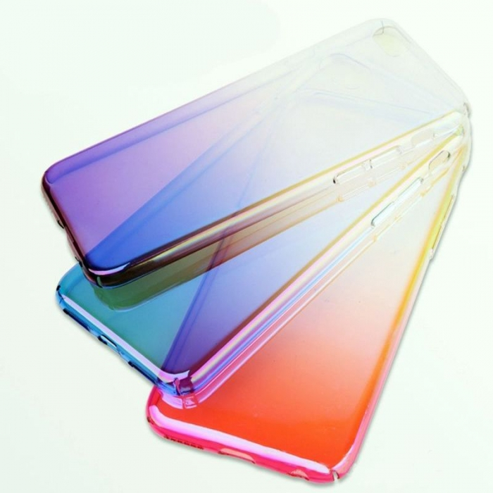 Husa plastic degrade Iphone 7/8 - 2 culori 0
