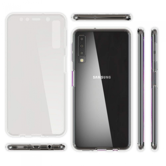 Husa silicon 360 fata+spate Samsung A50 1