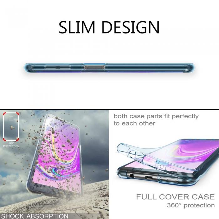 Husa silicon 360 fata+spate Samsung A50 3