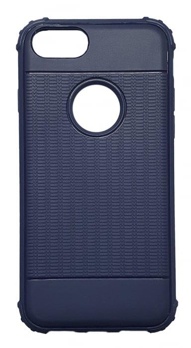 Husa silicon anti shock cu striatii Iphone 7/8 - 2 culori 0
