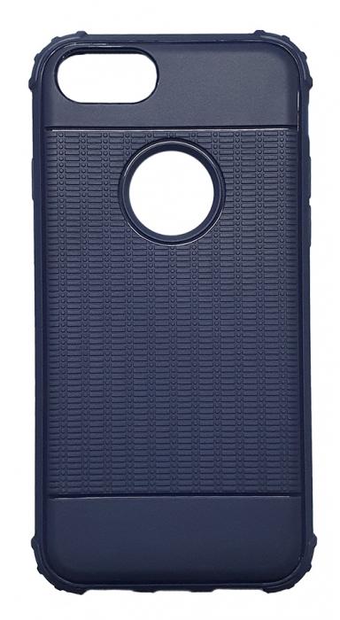 Husa silicon anti shock cu striatii Iphone 8+ - 2 culori 0