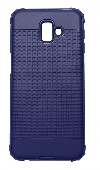 Husa silicon anti shock cu striatii Samsung J4 plus - 2 culori 1
