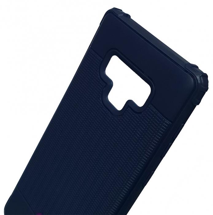 Husa silicon anti shock cu striatii Samsung Note 9 - 2 culori 1