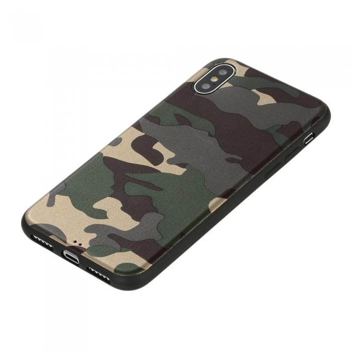 Husa silicon army Iphone X/Xs 1