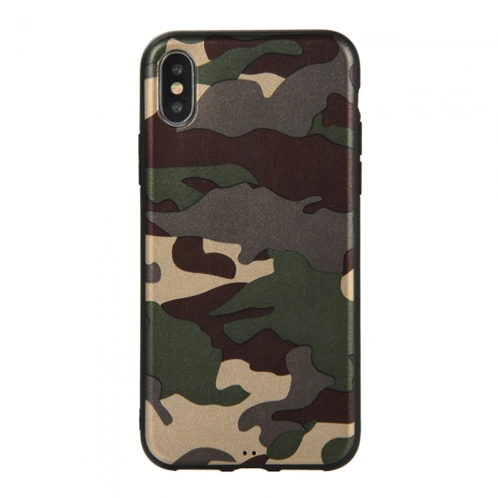 Husa silicon army Iphone X/Xs 0