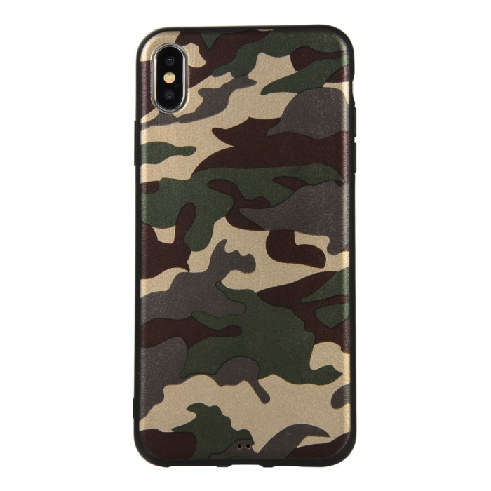 Husa silicon army Iphone Xs Max 0