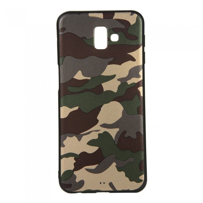 Husa silicon army Samsung J6 plus 0