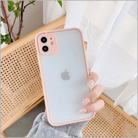 Husa bumper mat iPhone 12 Pro- 4 Culori [0]