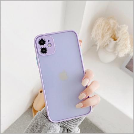 Husa bumper mat iPhone 12 Pro- 4 Culori [2]