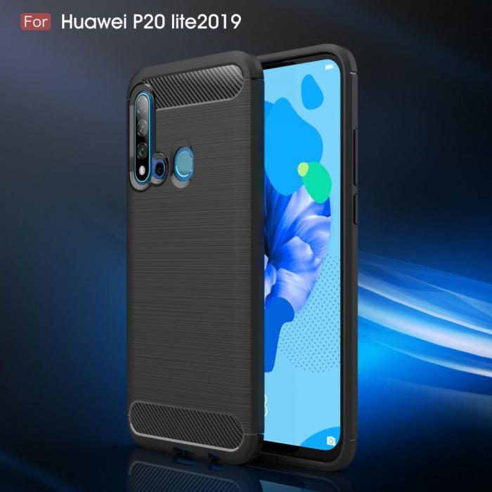 Husa silicon carbmat Huawei P20 lite (2019) [0]