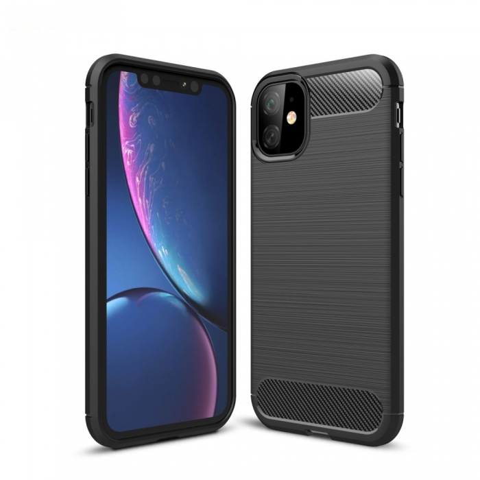 Husa silicon carbmat Iphone 11 Pro Max 0